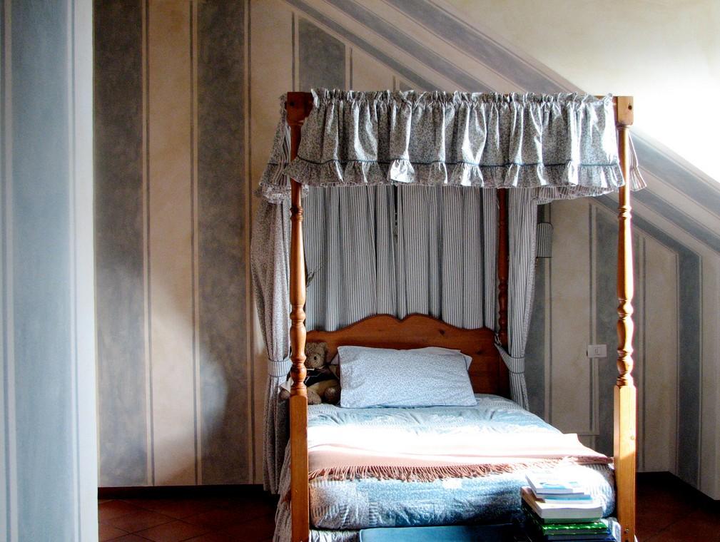 Pareti A Righe Verticali O Orizzontali: Camera a righe orizzontali decorazioni per le pareti della.