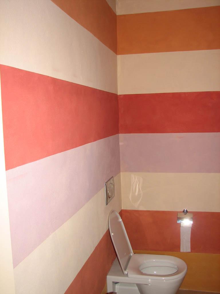 Bagno a righe decorazione pittorica di interni bologna for Blog decorazione interni