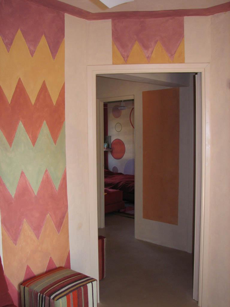 Scorcio decorazione pittorica di interni bologna for Blog decorazione interni