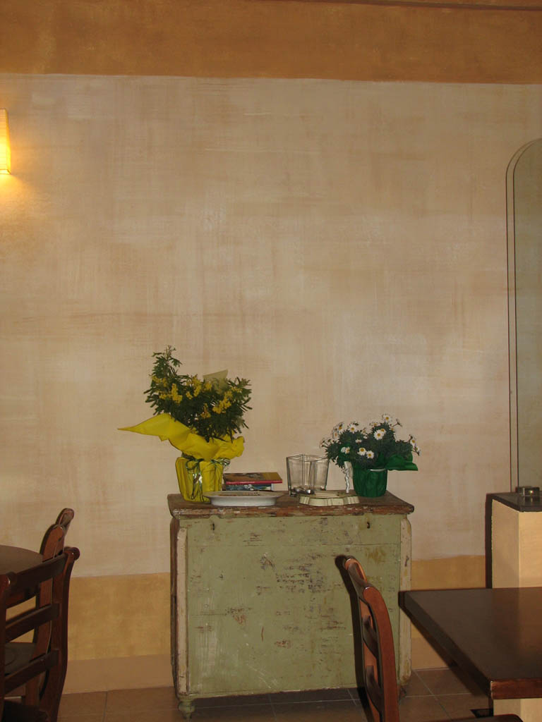 Muro bianco decorazione pittorica di interni bologna for Blog decorazione interni