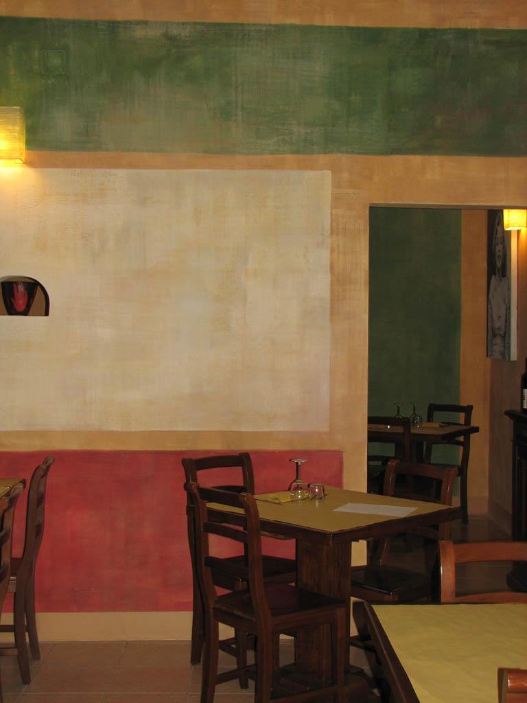 Ristorante da francesco decorazione pittorica di - Blog decorazione interni ...