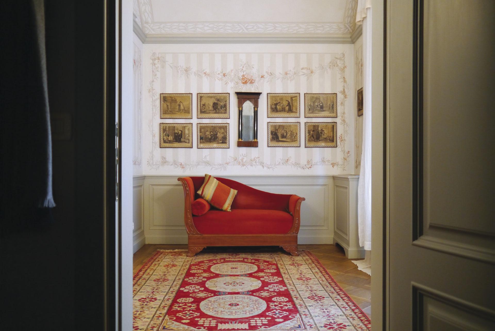 Un ingresso romantico decorazione pittorica di interni for Blog decorazione interni
