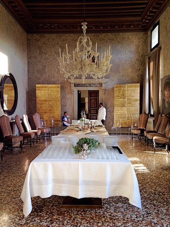 Pranzo sul canal grande decorazione pittorica di interni - Blog decorazione interni ...